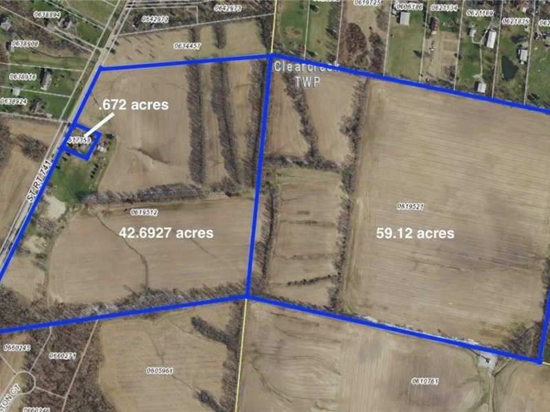 A St Rt 741, Clearcreek Twp., OH 45036, ,Land,For Sale,St Rt 741,1602106